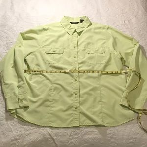 Women's Eddies Bauer size XL button down shirt
